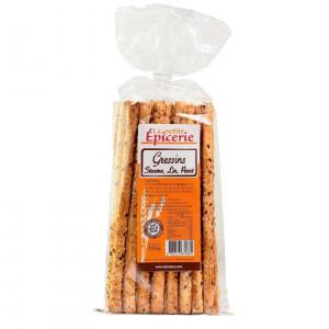 Breadsticks in the sesame