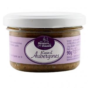 ORGANIC eggplant caviar...